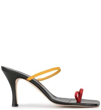 CHRISTOPHER ESBER Fuyao tri-colour sandals