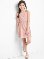 Gap Print bow tank dress