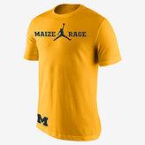 Nike Jordan College Maize Rage (Michigan) Men's T-Shirt