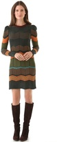 M Missoni Dot Stripe Dress
