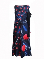 Eudon Choi Morath Dress in Red Polka Dot