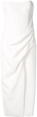 Manning Cartell Australia Hit Predictor strapless midi dress