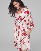 Cool Nights Kimono Sleeve Short Robe