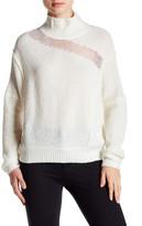 Elie Tahari Wool Blend Turtleneck Sweater