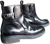 Ami Black Patent leather Boots