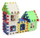 24Pcs Children Kids Bricks House Building Blocks Construction Set Learning Toy by Toy Gift