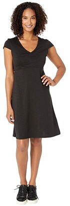 Toad&Co Rosemarie Dress (Black) Women's Dress