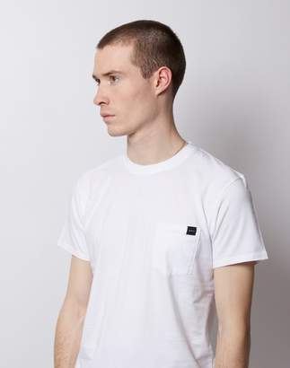 Edwin Single Jersey Pocket T-Shirt White