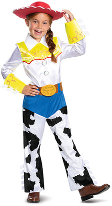 Disguise Girls' Costume Outfits - Toy Story 2 Jessie Deluxe Dress-Up Set - Toddler & Girls