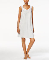 Charter Club Lace-Trimmed Printed Nightgown, Only at Macy's