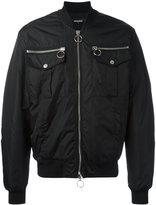 DSQUARED2 bomber jacket - men - Polyamide/Polyester/Polyurethane/Viscose - 48