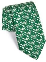 Vineyard Vines Men's New York Jets - Nfl Woven Silk Tie