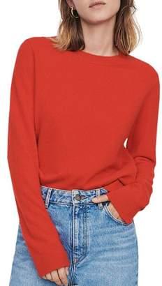 Maje Cashmere Crewneck Sweater