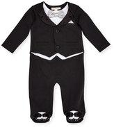 Miniclasix Tuxedo Footie Pajamas, Size 3-9 Months
