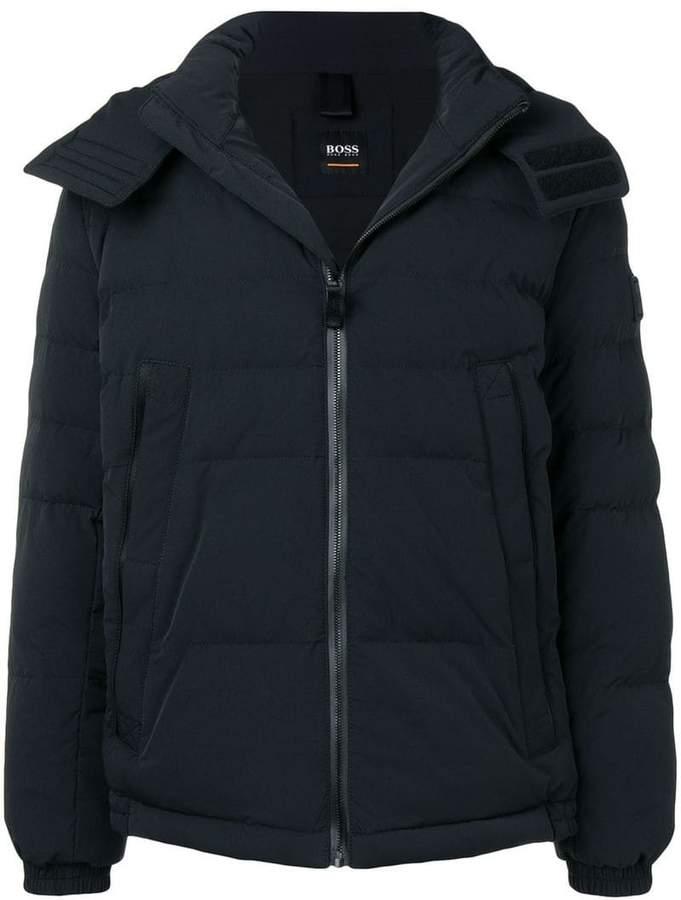 9bb65a90b Hugo Boss Hooded Jacket - ShopStyle