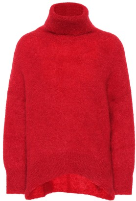 Valentino Mohair-blend turtleneck sweater