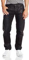 G Star Men's 3301 Low Tapered Fit Jean In Klin Black Denim