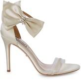 Badgley Mischka Fran Embellished Bow High-Heel Sandals