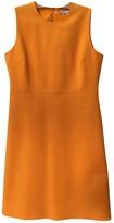 Victoria Victoria Beckham Victoria, Victoria Beckham Yellow Cotton - elasthane Dress for Women