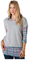 Women's Toad & Co Baby French Terry Short Sleeve Tee