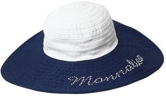 MonnaLisa Wide Brim Cotton Hat