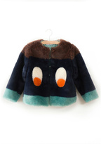 Bobo Choses Faux Fur Jacket