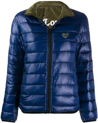 Love Moschino Heart Logo puffer jacket