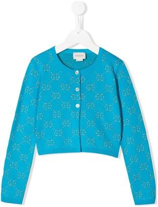 Gucci Kids Buttoned Cardigan
