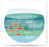Minted School Of Fish Classroom Valentine's Day Cards