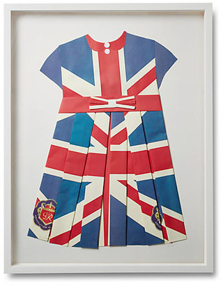 Dawn Wolfe Design Folded British Flag Dress