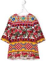 Dolce & Gabbana Mambo print top - kids - Silk/Spandex/Elastane - 6 yrs