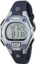 Timex Women's T5K018 Ironman Traditional 30-Lap Blue/Silver-Tone Resin Strap Watch