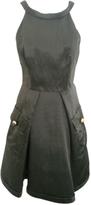 Prada Khaki Silk Dress