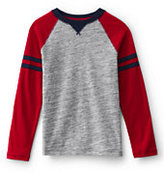 Classic Boys Textured Colorblock Tee-Eat All We Can