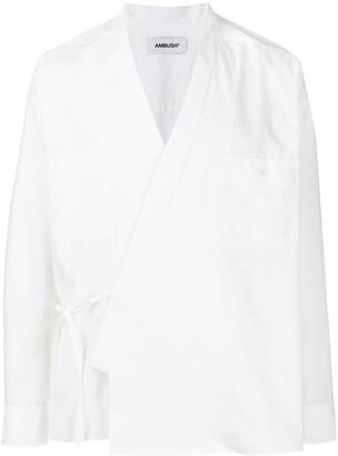 Ambush Kimono-Style Wrap Shirt