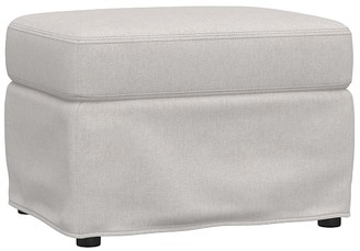 Pottery Barn Kids Wingback Slipcovered Glider & Ottoman