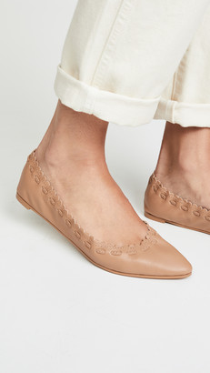 See by Chloe Jane Point Ballet Flats