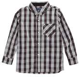 Andy & Evan Boy's Plaid Woven Shirt