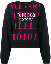 McQ by Alexander McQueen printed sweatshirt - women - Cotton - XS