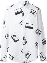 Kenzo Postcard shirt