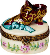 Chamart Sculpted Shoe Relief Box