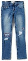 Jessica Simpson Big Girls 7-16 Kiss Me Embroidered Skinny Jeans