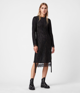 AllSaints Kiara Peace Dress