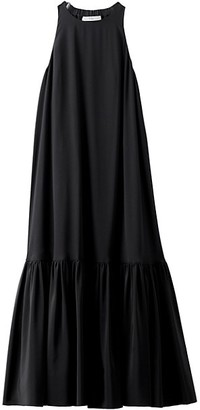 Tibi Eco Silk Halter Midi Dress