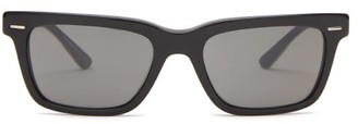 Oliver Peoples Ba Cc Square Acetate And Metal Sunglasses - Black