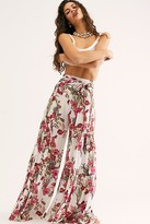 Free People Fp One Aloha Printed Wide-Leg Pants at