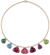 Irene Neuwirth One-Of-A-Kind Multi-Color Tourmaline Necklace - Rose Gold