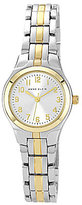 Anne Klein Two-Tone Analog Bracelet Watch