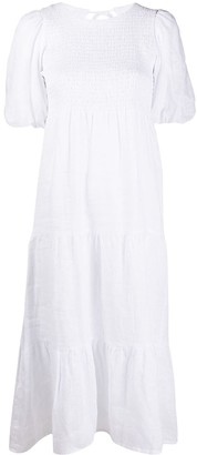 Faithfull The Brand Linen Midi Dress