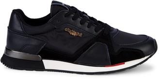 Roberto Cavalli Sport Tonal Mixed-Media Sneakers